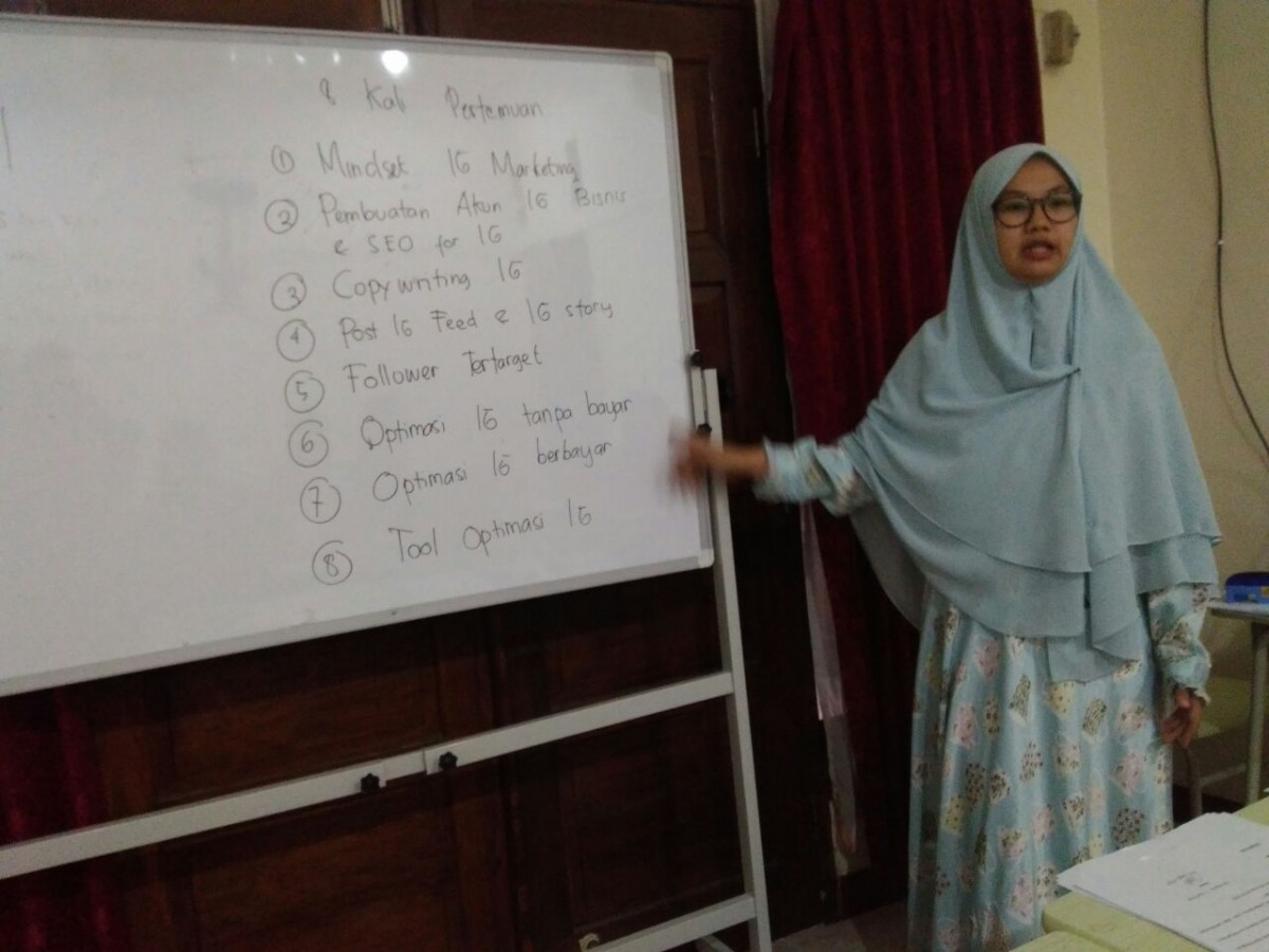 Kelas Instagram Marketing