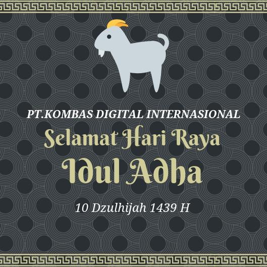 Selamat Idul Adha 1439 H